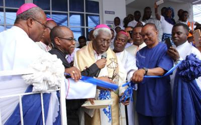 Commissioning and GroundBreaking of Joseph Ukpo Hospitals and Research Institutes (JUHRI) Afua Site, Akwa Ibom State, Nigeria